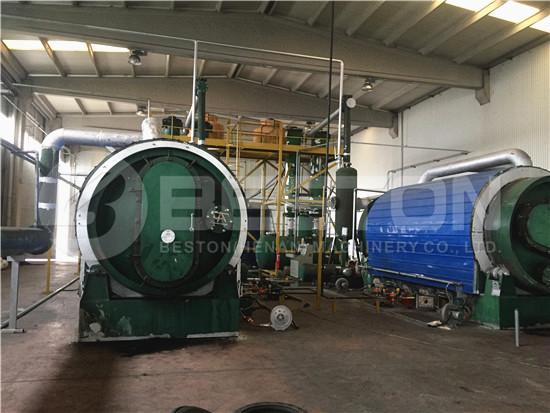 Tire to Oil Plant in Turkey