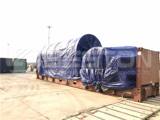 Waste Tyre Pyrolysis Machine to South Africa