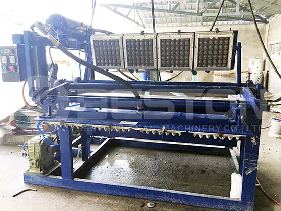 Small Egg Tray Machine